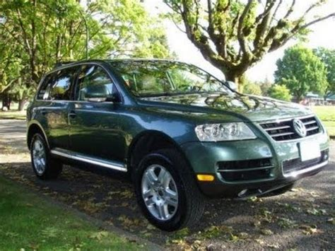 2004 Volkswagen Touareg Review by 2004 Volkswagen Touareg V8 Walkaround Review And Test
