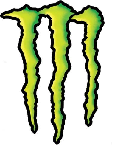 Monster Energy Sticker Truck by Monster Energy Color Jpg
