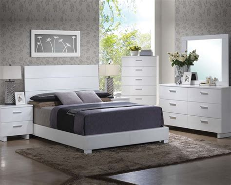 high gloss bedroom furniture white high gloss white bedroom set lorimar by acme furniture