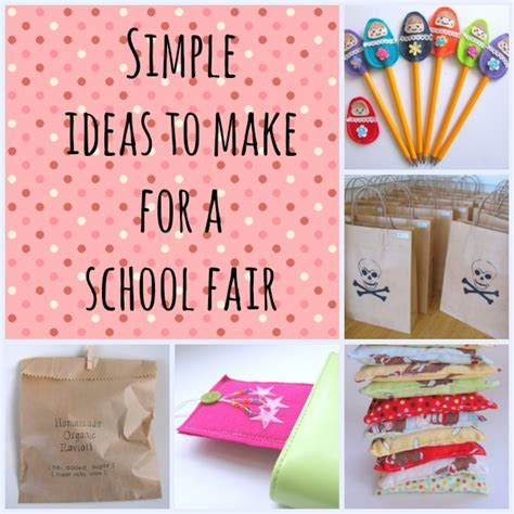 easy crafts for to make in school school fair ideas goodsell school fair pta
