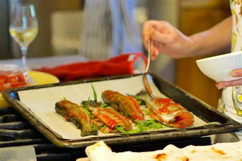 recette truites 224 l estragon grill 233 es au four banlieusardises