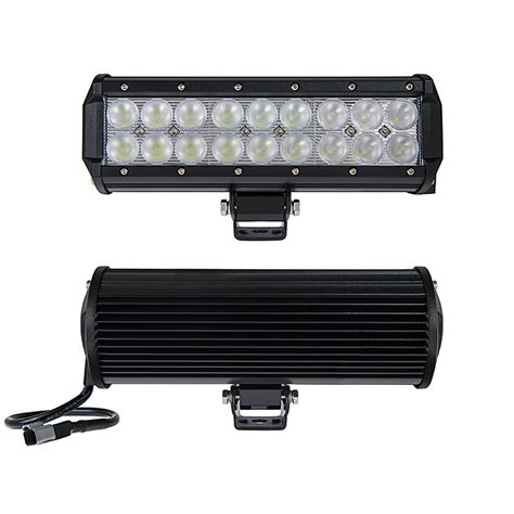led offroad light bars 9 quot road led light bar 54w 3 780 lumens led light