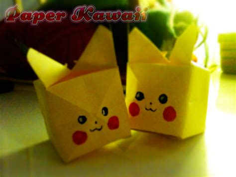 origami pickachu paper origami pikachu images images