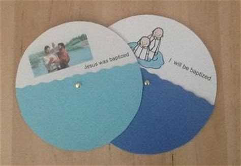 baptism crafts for to make lesson 26 nursery nanny