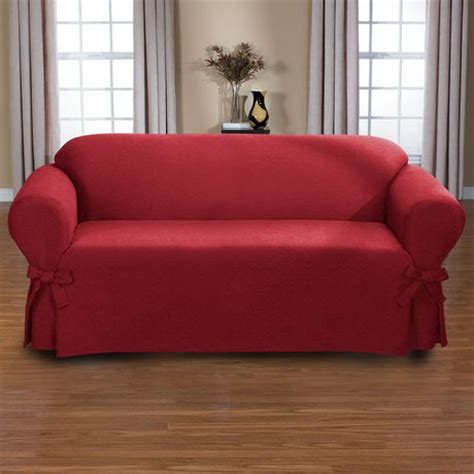 sofa slipcover walmart surefit bruce relaxed fit sofa slipcover walmart ca