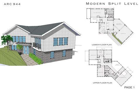 split plan house house plans for split level additions