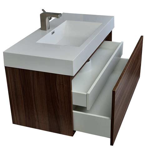 bathroom vanities tn modern bathroom vanity in walnut finish tn a1000 wn