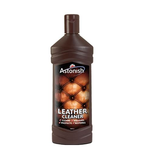 leather cleaner for cars astonish leather cleaner 750ml to clean leather sofas car seats briefcases by astonish