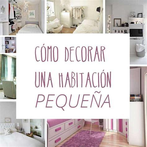 decoracion habitacion con fotos c 243 mo decorar una habitaci 243 n peque 241 a trucos para abril de