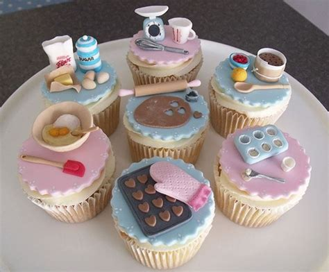 baking themed cupcakes cakes themed