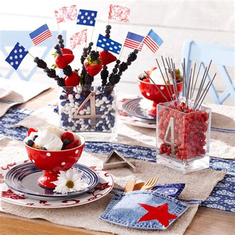 4th of july decorations 13 cool ideas of 4th of july table decorations digsdigs
