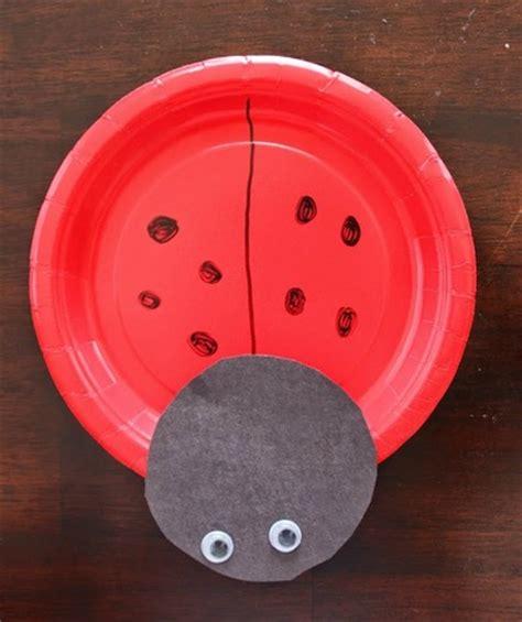 paper plate ladybug craft ladybug paper plate craft