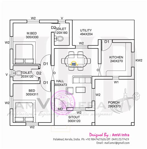 house floor plans india below 100 sqft kerala home free plans low cost kerala
