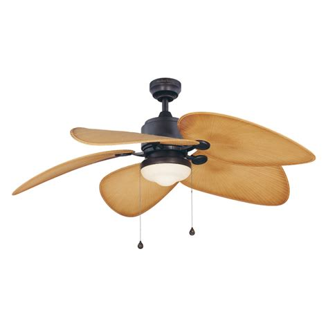 outdoor ceiling fan light kits shop harbor 52 in freeport aged bronze outdoor