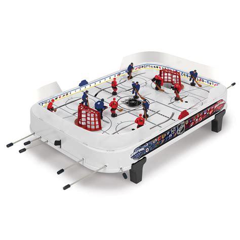 table hockey nhl table top rod hockey