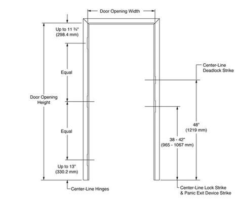 standard width interior door door height front door handle height standard