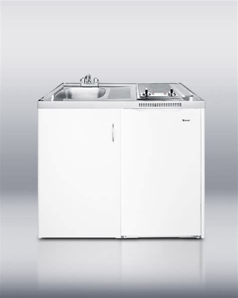 kitchen sink cabinet combo summit c39autoglass 39 inch all in one combination kitchen