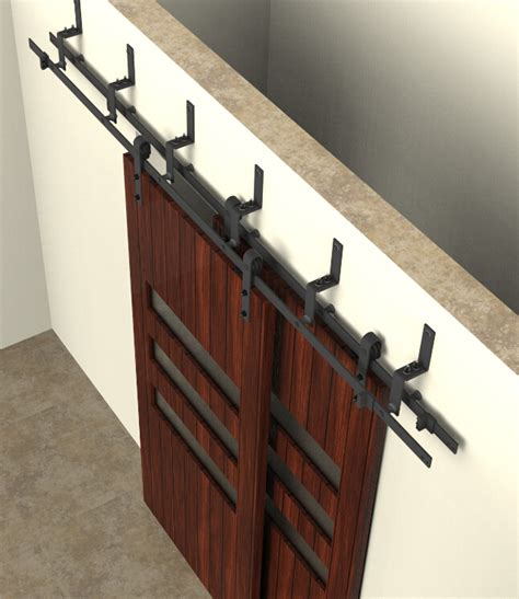 barn door track and hardware bypass sliding barn wood door hardware interior sliding