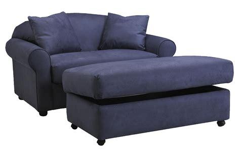 ottoman sleeper klaussner possibilities chair sleeper and storage ottoman