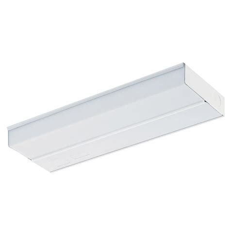 lithonia lighting 12 in white t5 fluorescent cabinet light uc 12e 120 m6 the home depot