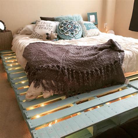 diy wood bed frame top 62 recycled pallet bed frames diy pallet collection