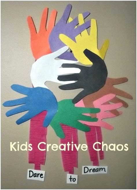 mlk crafts for martin luther king jr day craft ideas for