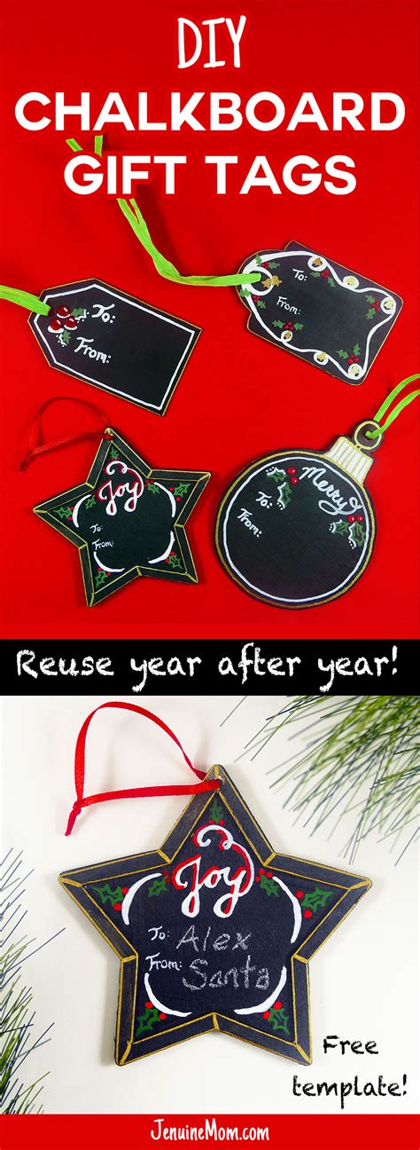 diy chalkboard gift tags diy chalkboard gift tags reuse every
