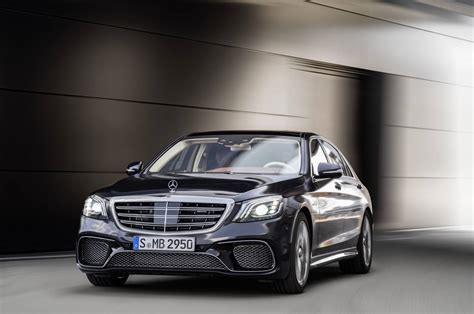 Mercedes Amg S65 by Official 2018 Mercedes Amg S63 And S65 Facelift Gtspirit