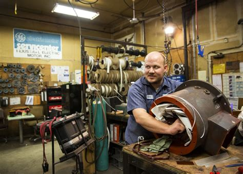 Industrial Electric Motor Service by This Longtime Falls Company Survived An Ownership