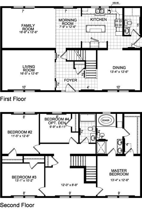 ontario model 618 two story modular home s homes