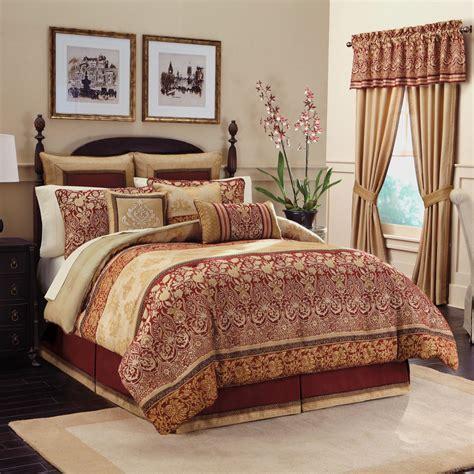 bedroom comforter golden curtains combined with comforter