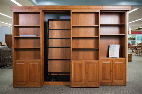 murphy bed with shelves bookcases ideas bookcase murphy wall bed wilding wallbeds