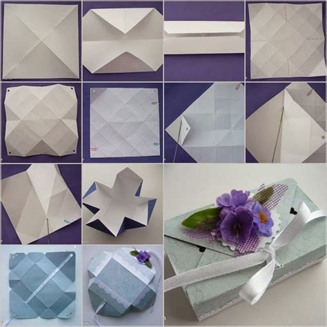 diy origami box diy origami gift box without glue paper crafts
