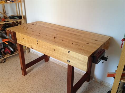 used woodworking bench daniel s woodworking bench the wood whisperer