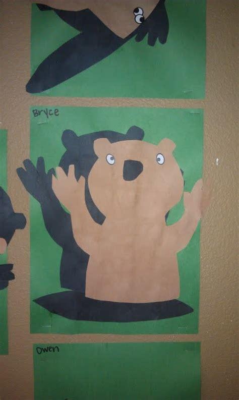 groundhog day crafts groundhog shadow craft winter