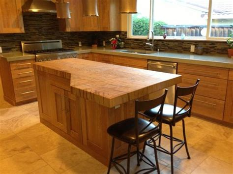 butcher block kitchen island breakfast bar maple butcher block islands with breakfast bar made spalted maple end grain butcher block