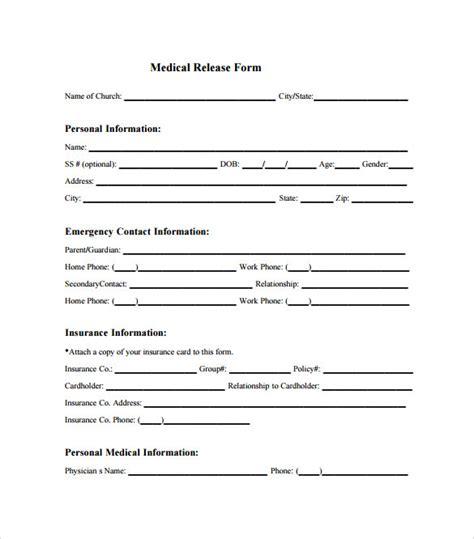 free child medical consent form 8 sample child medical