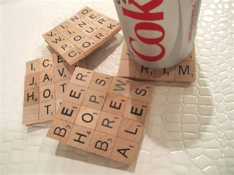 scrabble letters for crafts scrabble coasters diy craft project