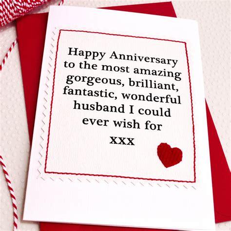 card ideas for husband husband boyfriend handmade anniversary card by