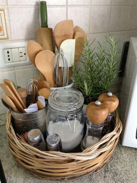 kitchen counter storage ideas 25 best ideas about storage baskets on