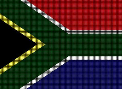 patterns south africa south africa flag crochet pattern