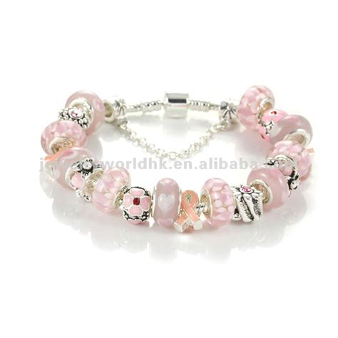 ribbon for jewelry pink ribbon bracelets jewelry for breast cancer awareness
