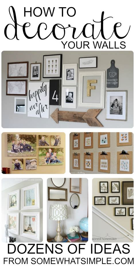 home decorating ideas living room walls diy wall hangings dozens of great ideas for decorating