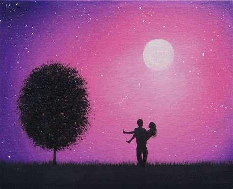 paint nite for couples by bingaman silhouette painting