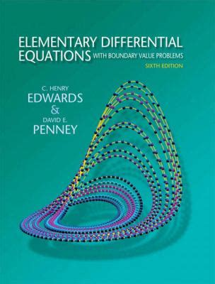 fundamentals of differential equations 9th edition elementary differential equations with boundary