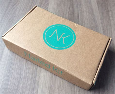 box subscription nailed kit subscription box review feb 2014 my
