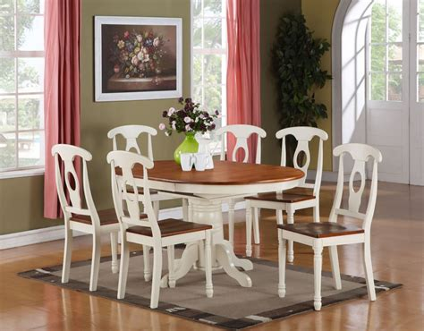 kitchen dining room sets 5pc oval dinette kitchen dining room set table with 4
