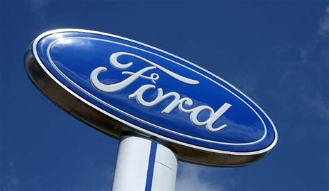 Ford Sign by Ford Blue Oval Signs