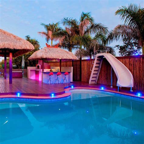 backyard pool slides triyae backyard slide various design
