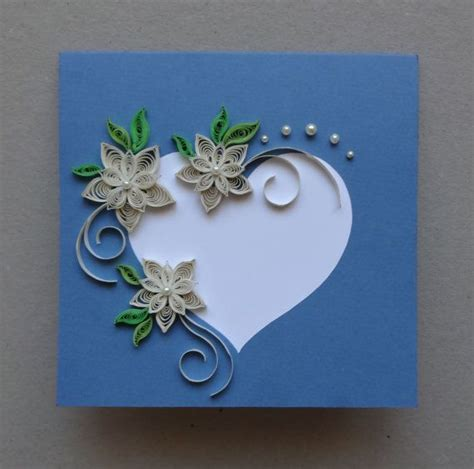 how to make a greeting card with paper best 25 quilling cards ideas on diy quilling